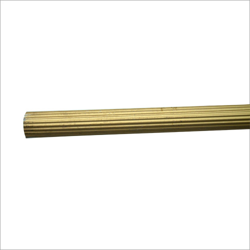25mm Golden Aluminum Curtain Rod