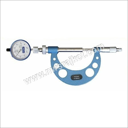Slide Anvil Outside Micrometer with Dial Indicator
