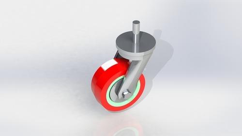 Heavy Duty Polyurethane Pin type Wheel