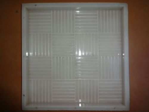 Pvc Chequered Tiles Mould