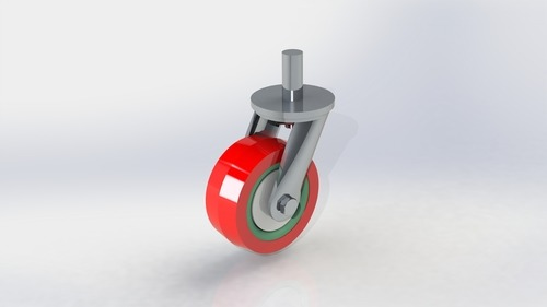 Medium Duty Polyurethane Pin type Wheel