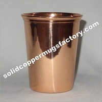solid Copper Pint Glass For Juice Vodka Copper Glass