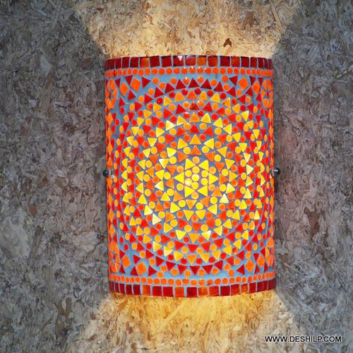 ROUND WALL LAMP LIGHT