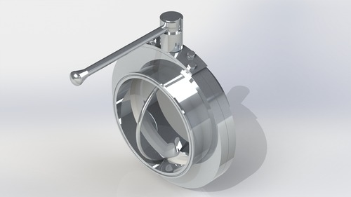 Butterfly Valve Manually Operated