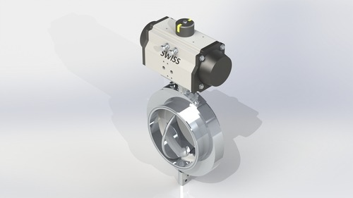 Butterfly Valve Actuator Operated