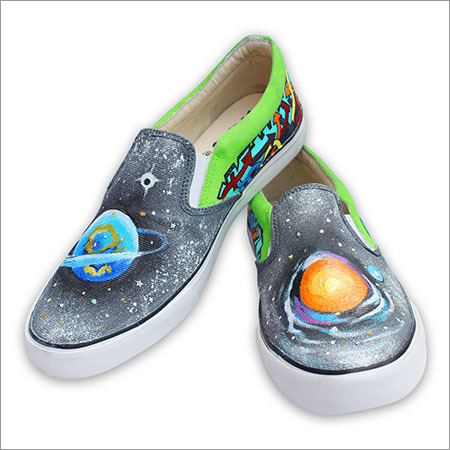cc3ffaa5620 Custom Canvas Shoes  Galaxy Hand Painted Slip on S Manufacturer ...