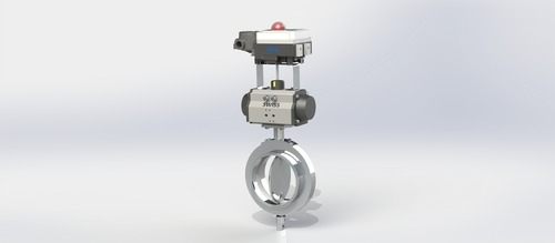 Positioner Operated Butterfly Valve TC End