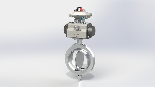 Actuator Operated Butterfly Valve TC End