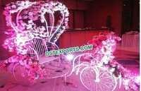 Decorated Bridal Entry Carriage