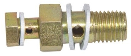 12 MM Banjo Bolt with Check Valve