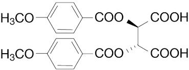 Di p Anisoyl  L Tartaric Acid