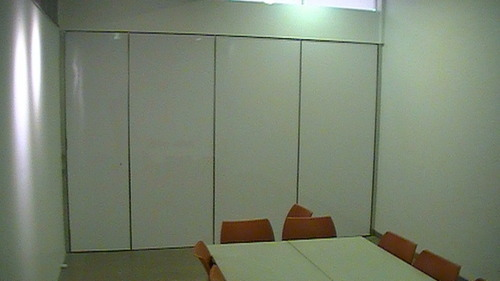 Acoustic Sliding Folding Partition - Raheja Center
