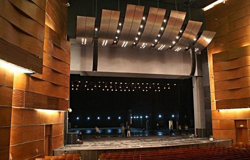 Acoustic Treatment of Auditorium - Ascend Internat