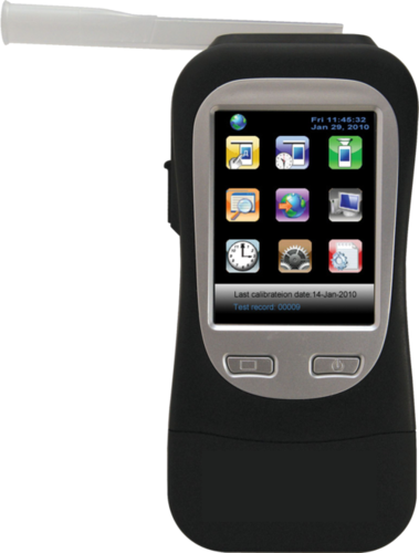 Alcohol Breath Analyser with Inbuilt GPS Printer Jupiter