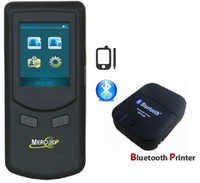 Alcohol Breath Analyser with Bluetooth Printer Mercury