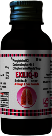 Dextromethorphan, Chlorpheniramine Phenylephrine Syrup