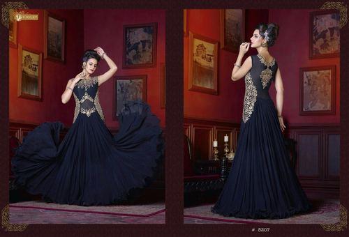 Georgette Desinger Fancy Gown