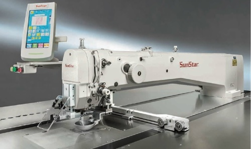 Electronically Controlled Auto Patten quilting