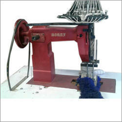 6 Needle Mop Tufting Machine