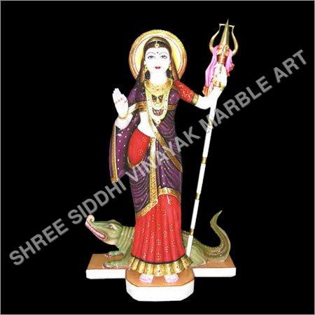 Marble Khodiyar Statue
