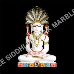 Marble Jain Pashrwanath Statue