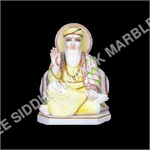 Marble Gurunanak Statue