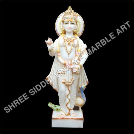 Marble Murugan Swami Ji Statue