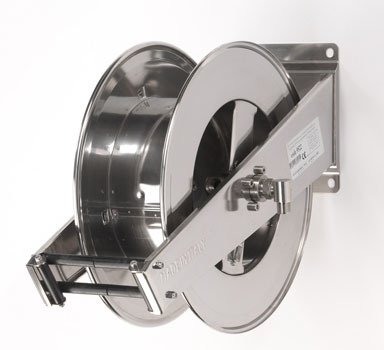 Dual Stand SS Oil Hose Reel