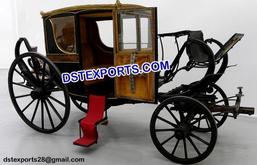 Box Type Wedding Horse Carriage