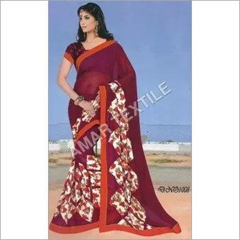 Designer Border sarees