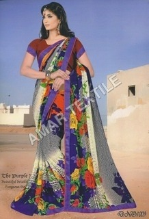 Border Blouse Piece sarees