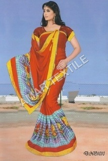 Border Blouse Piece Fancy sarees