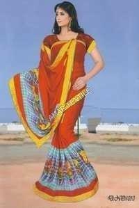 Border Blouse Piece Fancy sarees