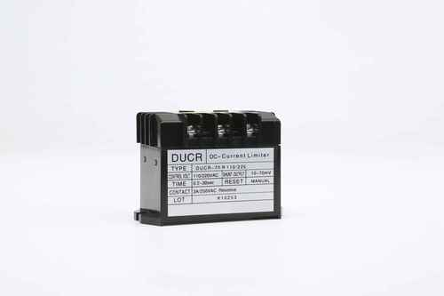 DC Overcurrent Relay