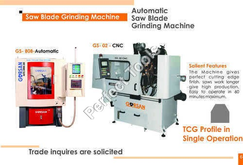 Automatic Circular Saw Blade Grinding Machine