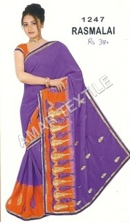 fancy printed Exclusive saree