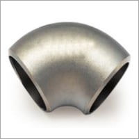 Black Painted 180 degree pipe elbow