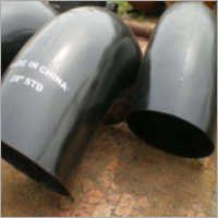 Black Painted 180 degree Fittings elbow