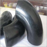 Black Painted Butt Welding Sch40 Pipe Elbow
