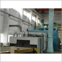 Steel Sheet Shot Blasting Machine
