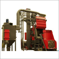 Steel Track Grit Blasting Machine