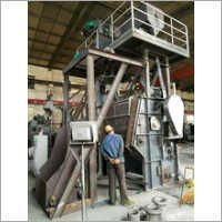 Steel Track Shot Blasting Machine