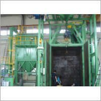 Components Surface Cleaning Shot Blasting Machine