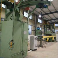 Automatic Hanger Type Shot Blasting Machine