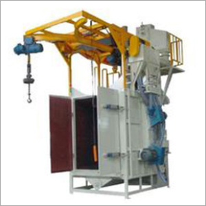 Manual Hanger Type Shot Blasting Machine