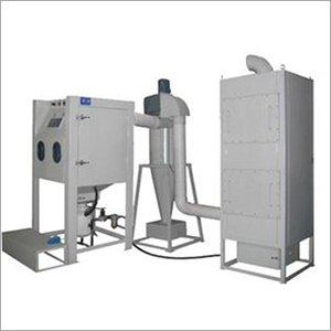 Vertical Sand Blasting Machine