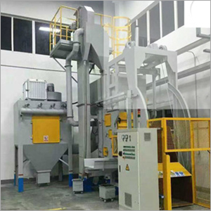 Steel Casting Shot Blasting Machine