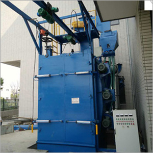 Hanger Stepping Shot Blasting Machine