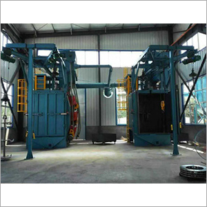 Aluminium Alloy Wheels Shot Blasting Machine