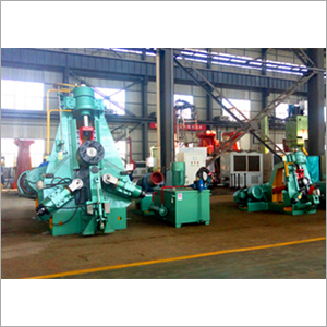 Iron Ring Roller Making Forging Machine
